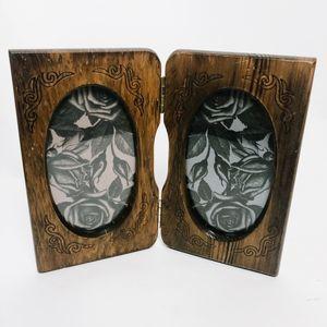 Vintage Boho Wooden Picture Frame